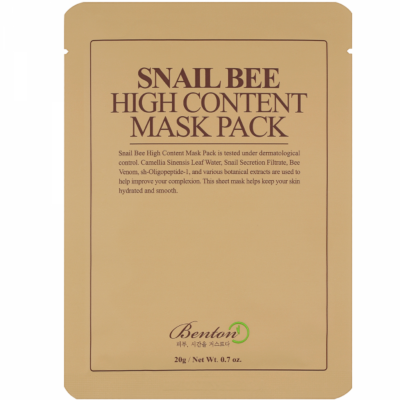 Benton Snail Bee Mask Pack 600x600